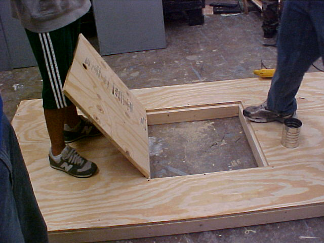 Ya know, trap doors are a lot easier to build than you think.