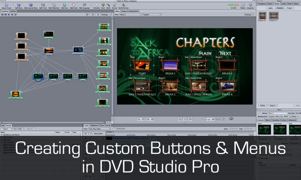 Creating button templates, menus, and a chapter index automatically ...