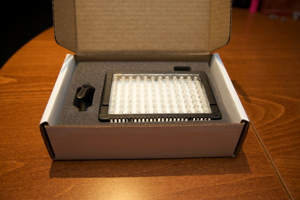 The Lite Panel Micro Pro in its box